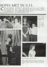 1985 Clyde High School Yearbook Page 110 & 111
