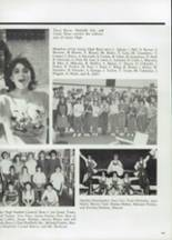 1985 Clyde High School Yearbook Page 112 & 113