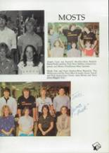 1985 Clyde High School Yearbook Page 116 & 117