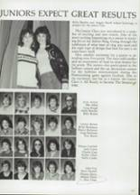 1985 Clyde High School Yearbook Page 124 & 125