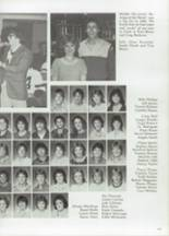 1985 Clyde High School Yearbook Page 126 & 127