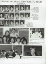1985 Clyde High School Yearbook Page 132 & 133