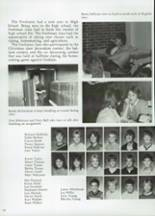1985 Clyde High School Yearbook Page 136 & 137