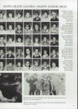 1985 Clyde High School Yearbook Page 144 & 145