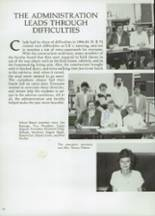 1985 Clyde High School Yearbook Page 166 & 167