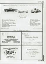 1985 Clyde High School Yearbook Page 182 & 183