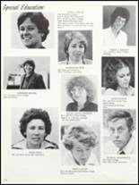 1981 Bloomfield High School Yearbook Page 128 & 129