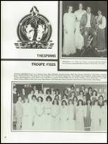 1982 Payson High School Yearbook Page 100 & 101