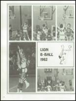 1982 Payson High School Yearbook Page 116 & 117