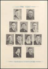 1938 West Point High School Yearbook Page 12 & 13