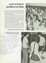 1974 East High School Yearbook Page 16 & 17