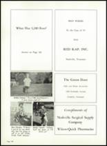 1967 Battle Ground Academy Yearbook Page 160 & 161