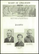 1955 Grundy Center High School Yearbook Page 10 & 11