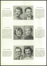 1955 Grundy Center High School Yearbook Page 14 & 15