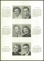 1955 Grundy Center High School Yearbook Page 16 & 17