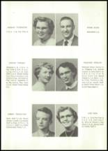 1955 Grundy Center High School Yearbook Page 20 & 21