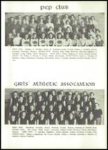 1955 Grundy Center High School Yearbook Page 36 & 37
