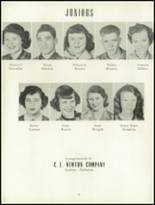 1954 Geneva County High School Yearbook Page 22 & 23