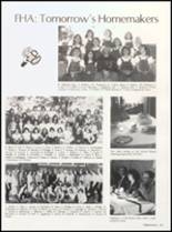 1982 Clyde High School Yearbook Page 92 & 93
