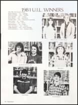 1982 Clyde High School Yearbook Page 100 & 101