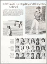 1982 Clyde High School Yearbook Page 124 & 125