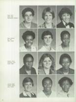 1982 Dreher High School Yearbook Page 54 & 55