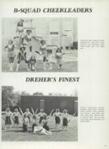 1982 Dreher High School Yearbook Page 104 & 105