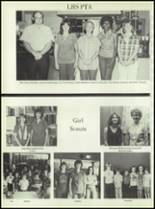 1981 Linville High School Yearbook Page 20 & 21