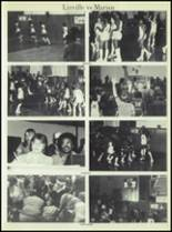 1981 Linville High School Yearbook Page 32 & 33