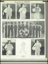 1981 Linville High School Yearbook Page 34 & 35