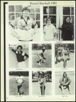 1981 Linville High School Yearbook Page 40 & 41