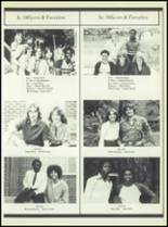 1981 Linville High School Yearbook Page 52 & 53