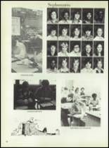 1981 Linville High School Yearbook Page 56 & 57