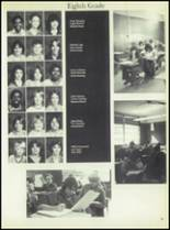 1981 Linville High School Yearbook Page 58 & 59