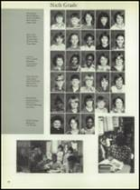 1981 Linville High School Yearbook Page 62 & 63
