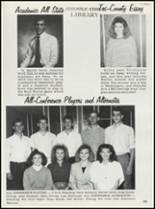 1989 Keyes High School Yearbook Page 42 & 43