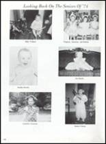 1974 North Sunflower Academy Yearbook Page 154 & 155
