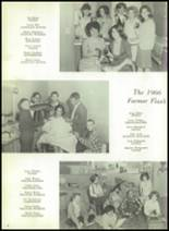 1966 Farmersville High School Yearbook Page 10 & 11