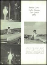 1966 Farmersville High School Yearbook Page 112 & 113
