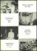 1966 Farmersville High School Yearbook Page 162 & 163
