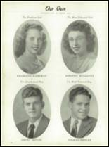1947 Turtle Creek High School Yearbook Page 18 & 19
