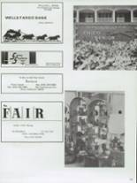 1972 Chico High School Yearbook Page 164 & 165