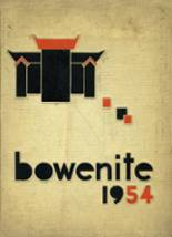 1954 Yearbook Bowen High School