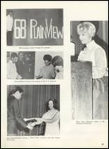 1968 Plainview High School Yearbook Page 68 & 69