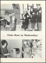 1968 Plainview High School Yearbook Page 92 & 93