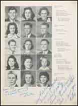 1942 Plainview High School Yearbook Page 42 & 43