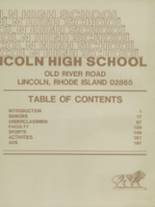 1983 Yearbook Lincoln High School