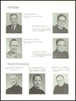 1960 University of Detroit High School Yearbook Page 14 & 15