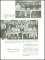 1960 University of Detroit High School Yearbook Page 44 & 45