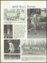 1979 Notre Dame High School Yearbook Page 62 & 63